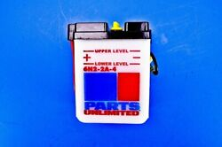 Parts Unlimited 6-volt Conventional Battery Kit 6n2-2a-4-fp