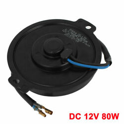 Auto Car Air Conditioner Cooling Fan Wired Motor Dc 12v 80w 3900rpm
