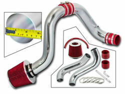 Red Cold Air Intake System + Filter For Acura 94-01 Integra Gsr Dc2 Dc 1.8l