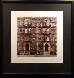 Peter Corriston Physical Graffiti Led Zeppelin Giclee On Paper Hand Signed
