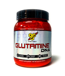 Bsn Glutamine Dna Series Unflavored Muscle Recovery 5g L-glutamine 60 Servings
