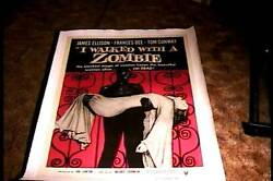 I Walked With A Zombie Orig Movie Poster R56 Linen Horror Val Lewton