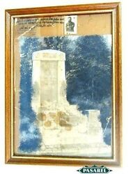 Rare Photo Of Theodor Herzl Tomb In Vienna And Small Photo Of Theodor Herzl