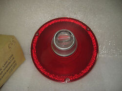 1961 Ford Taillight Lens With Backup Lamp New Vintage Replacement Nors