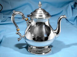 International Sterling 10-cup Teapot Prelude No Mono