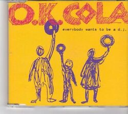 Fk271 Ok Cola, Everybody Wants To Be A Dj - 2003 Cd