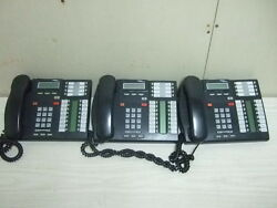 3 Nortel Norstar T7316 T7316e Business System Display Phone Phones For One Money
