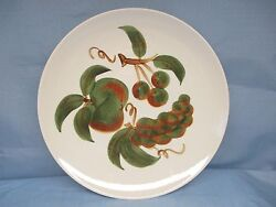 Stangl China Dinner Plate Orchard Song Exc