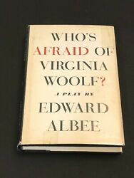 Edward Albee And Cast Who's Afraid Of Virginia Woolf Signed Autograph 1st Ed Book
