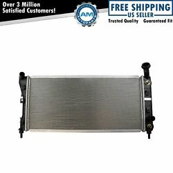 Radiator Assembly Aluminum Core Direct Fit For Chevrolet Pontiac Buick V6 New