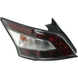 Outer Quarter Panel Mounted Tail Light Lamp Driver Side Lh For Nissan Maxima New