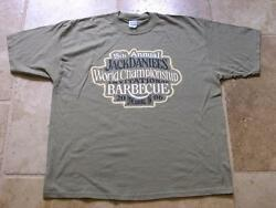 Jack Daniels 18th Annual 2006 World Championship Barbecue Green Large T- Shirt