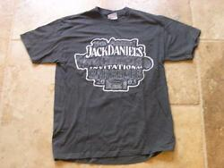 Jack Daniels 15th Annual 2003 World Championship Barbecue Charcoal Med T- Shirt