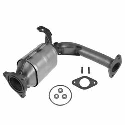 Catalytic Converter And Front Exhaust Pipe For Chevy Pontiac Saturn L4 2.4l New