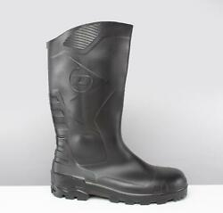 Dunlop DEVON Unisex Steel S5 SRA Slip Resistant Safety Wellington Boots Black