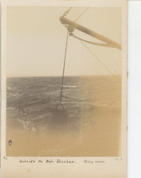 South Africa, Outside The Bar, Durban, Going Ashore Vintage Citrate Print. Ti