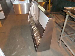 8 ' Type L Hood Concession Kitchen Grease Hood,blower,curb / Truck / Trailer