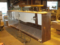 14 Ft. Type L Commercial Restaurant Kitchen Exhaust Only Hood New