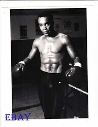 Sugar Ray Leonard barechested boxer VINTAGE Photo