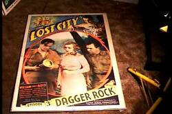 Lost City Episode Three Orig Movie Poster 1935 Serial