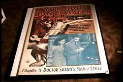 Mysterious Doctor Satan 1940 Chapter Five Orig Movie Poster Serail Sci Fi Robot