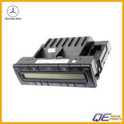 Mercedes W208 CLK320 CLK430 CLK55 Climate Control Unit With Push Button Assembly