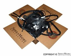 Seal And Rubber Restoration Kit Porsche 930 Coupe Without Sunroof 76-77