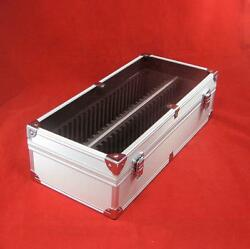 Aluminum Certified Coin Slab Storage Box Holds Up To 50 Pcgs Or Ngc Slabs