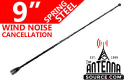 9 Black Spring Stainless Am/fm Antenna Mast Fits 1985-1989 Plymouth Reliant