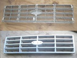 - Used 1993 Ford Truck Plastic Grill E3tb-8150-b -great Spare Or Use In A Driver