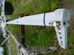 34 Foot 2 Inch Aluminum Sailboat Mast Extrusion 34'2 Cross Section 8x4.5
