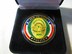 City Of New Orleans Police Dept. Challenge Coin W/ Presentation Box