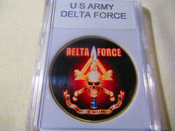 Us Army Delta Force Challenge Coin