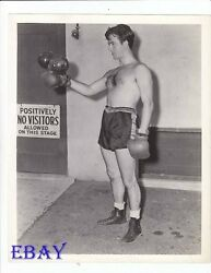 John Payne barechested boxer VINTAGE Photo Kid Nightingale