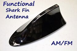 Functional Am/fm Shark Fin Antenna With Circuit Board - Fits Nissan Cube