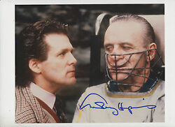 Anthony Hopkins As Hannibal Lecter 20cm X 25cm Signed Photograph With Coa