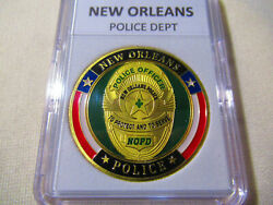 City Of New Orleans Police Dept. Challenge Coin