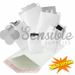Padded Envelopes - White Lite Bubble Mail Bags Cd Dvd A3 A4 A5 10 25 50 100