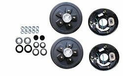 Add Brakes To Your Trailer Basic Kit 3500 Axle 5 X 5.0 Electric Axel Drum