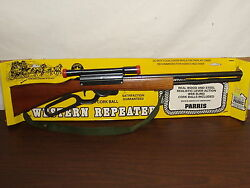 parris mfg toy western repeater rifle cork