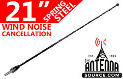 21 Black Spring Stainless Am/fm Antenna Mast Fits 1995-1998 Ford Windstar