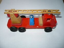 wood fire vehicle east germany ddr