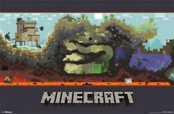 Minecraft Poster Amazing Video Game Image Rare Hot New 22x34