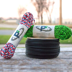 550 Paracord Rope Mil Spec Type Iii 7 Strand Parachute Cord 50 100 250ft Us Made