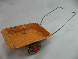 alps japan tin toy cowboy wagon western