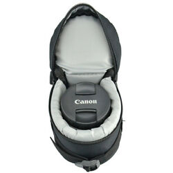 Nylon Protection Pouch Carrying Case Bag For Photo Zoom Lens / 90x160mm