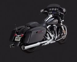 Vance And Hines Oversized 450 Chrome Slip Ons