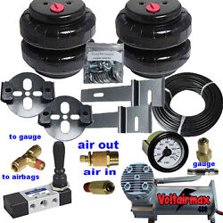 B Chevy S10 Tow Assist Air Over Leaf Under Frame Air Bag Suspension Air Manage