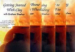 Beginner Series Getting Started With Clay Set All 5 Pottery Dvds / Pottery