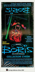 Factory Case-1992 Comic Image Boris Series 2 Fantasy Art Cards Case(20)-Popular